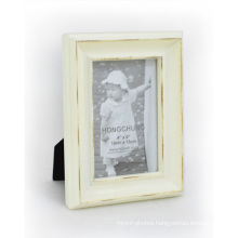 Classic Distressed Word Wooden Photo Frame for Home Decoration